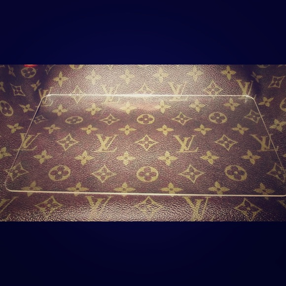 the sisterswood Handbags - Engraved initials purse shaper for Louis Vuitton